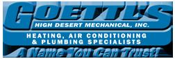 Goettls High Desert Mechanical-HVAC & Plumbing Specialists